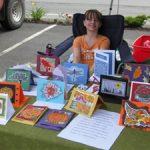 4-H entrepreneur sells handmade cards