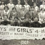 1929 delegation to Maine 4-H Camp at ESE