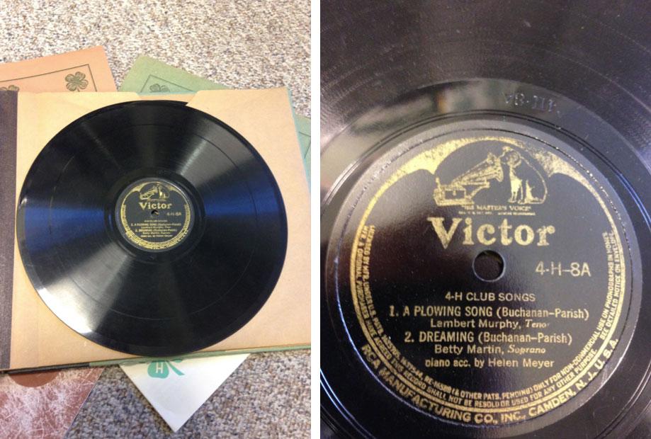 4-H RCA Victor records