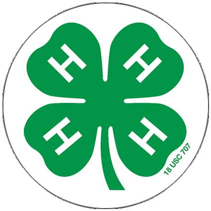 4-h logo in a circle border