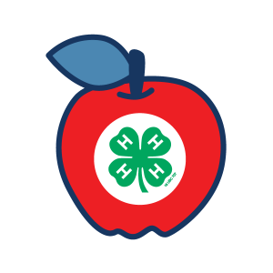 Youth Science Day Experiments Grades 3-8 apple icon for 4H Project Kits
