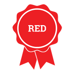 4H public speaking red ribbon icon