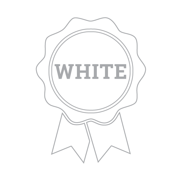 4H public speaking white ribbon icon