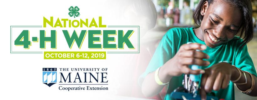 National 4-H Week, October 6-12