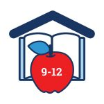 icon graphic for learn at home 9-12 grade levels