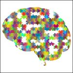 brain graphic with a jigsaw puzzle in the brain