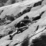 4-H'er rock climbing