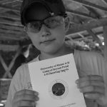 4-H'er with shooting sports certificate