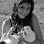 4-Her with rabbit