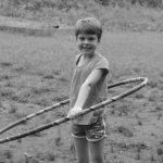 4-H'er with hula hoop