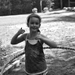 4-H'er with a hula hoop
