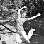 4-H'er leaps for joy