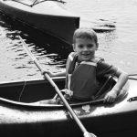 4-H'er in kayak