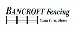 Bancroft Fencing Sponsor