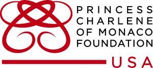 Logo for the Princess Charlene of Monaco Foundation USA