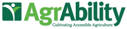 AgrAbility logo: Cultivating Accessible Agriculture