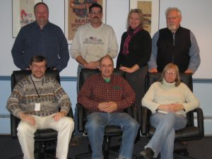 Seven members of the Maine AgrAbility Advisory Council, 2011-2012