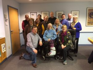 AgrAbility staff and advisory council members pose for a photo