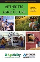 """Cover of """"Arthritis and Agriculture"""" by AgrAbility"""