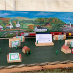 electric train display