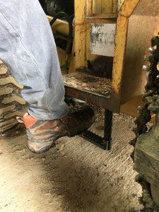 Bill using a custom step