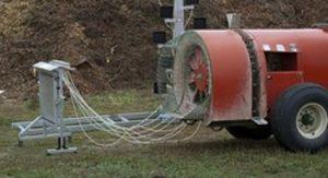 Air Blast Sprayer Calibration Equipment