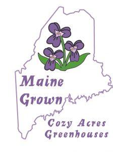 Cozy Acres Greenhouses logo