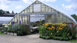 Snell Family Farm greenhouse