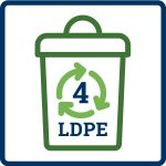 material collected icon for recycling fact sheet