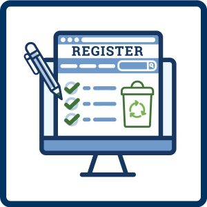 registration icon for fact sheet