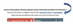 screenshot of spreadsheet link