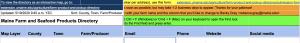 screenshot of top of Google Sheet