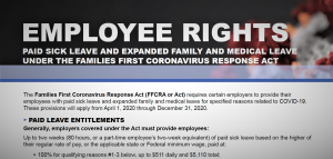DOL Poster, employee rights
