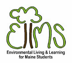 logo for Environmental Living & Learning for Maine Students logo