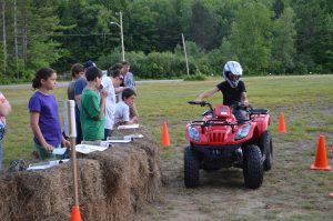 campers learn about ATV safety