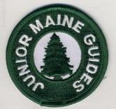 Junior Maine Guides badge