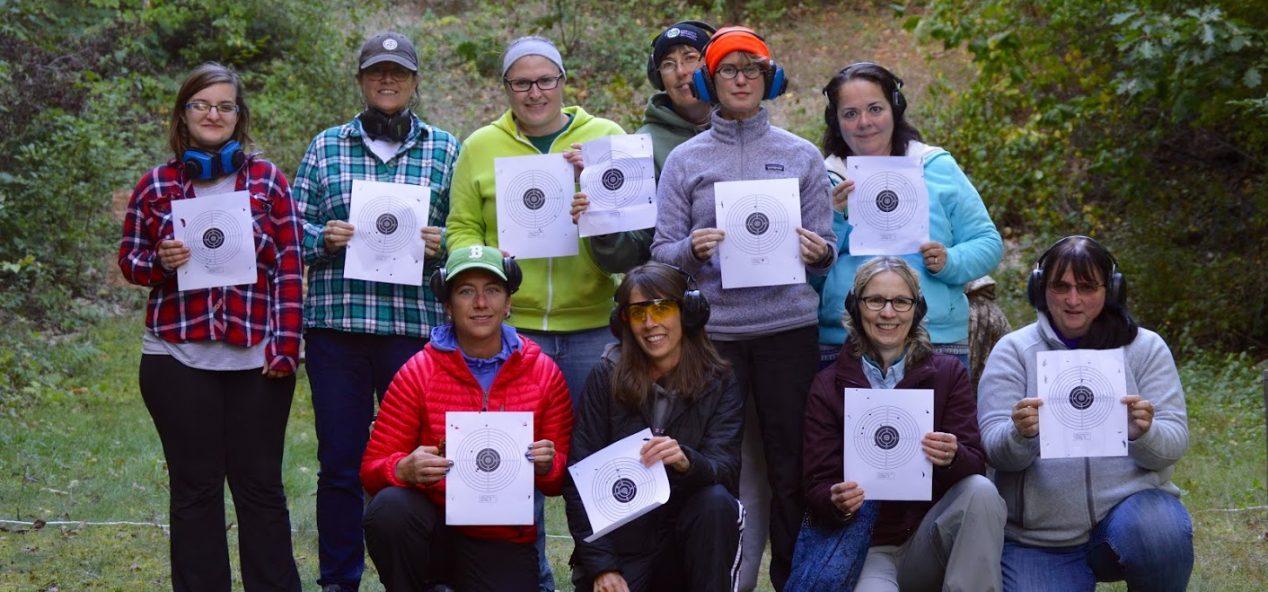 BOW Participants at the range