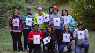 Becoming an Outdoors Woman participants