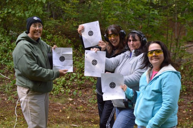 BOW Participants on the range