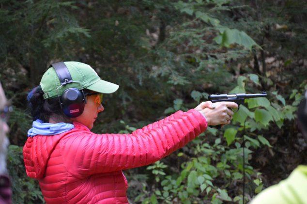 BOW participant: Pistol range