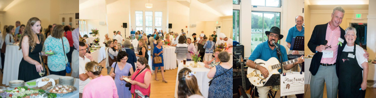 Guests enjoying the Taste of Tidewater fundraiser