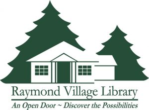 Raymond Village Library logo
