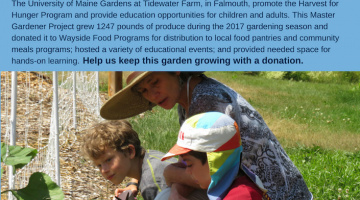 Giving Tuesday 2017 Tidewater Farm