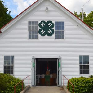 a 4-H meeting hall