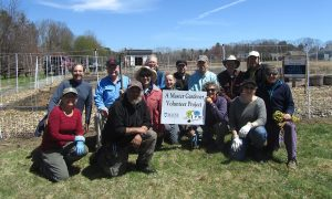 a group of Master Gardeners at tidewater farm