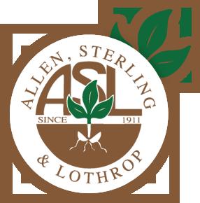 Allen, Sterling, and Lothrop Logo