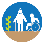 elderly and individuals with disabilities MGV project map icon