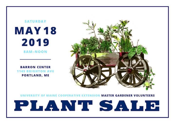 Master Gardener Plant Sale Postcard