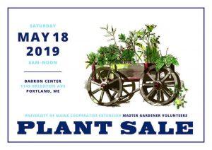 Master Gardener Plant Sale Postcard with illustration