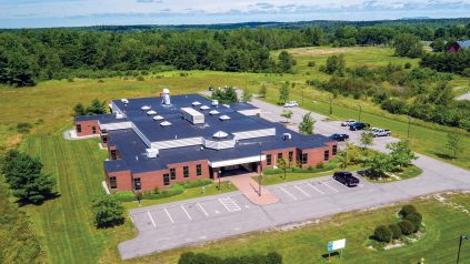 aerial view of the Cooperative Extension Diagnostic and Research Laboratory